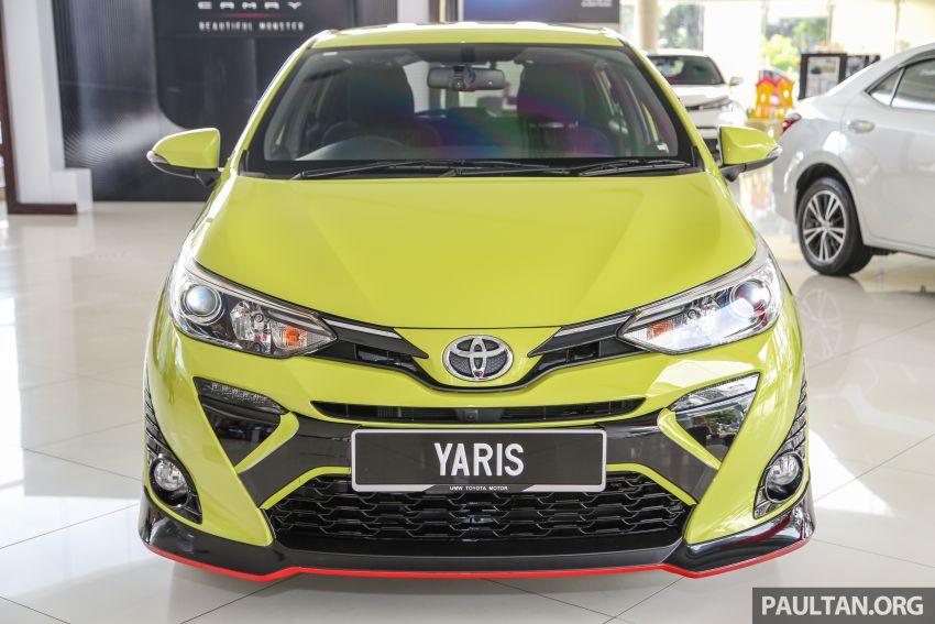 2019 Toyota Yaris 1.5G displayed in PJ – RM84,888 est. Image #944912