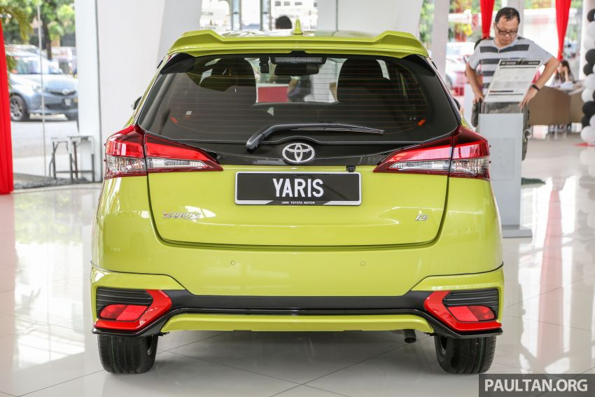 2019 Toyota Yaris 1.5G displayed in PJ – RM84,888 est. Image #944913