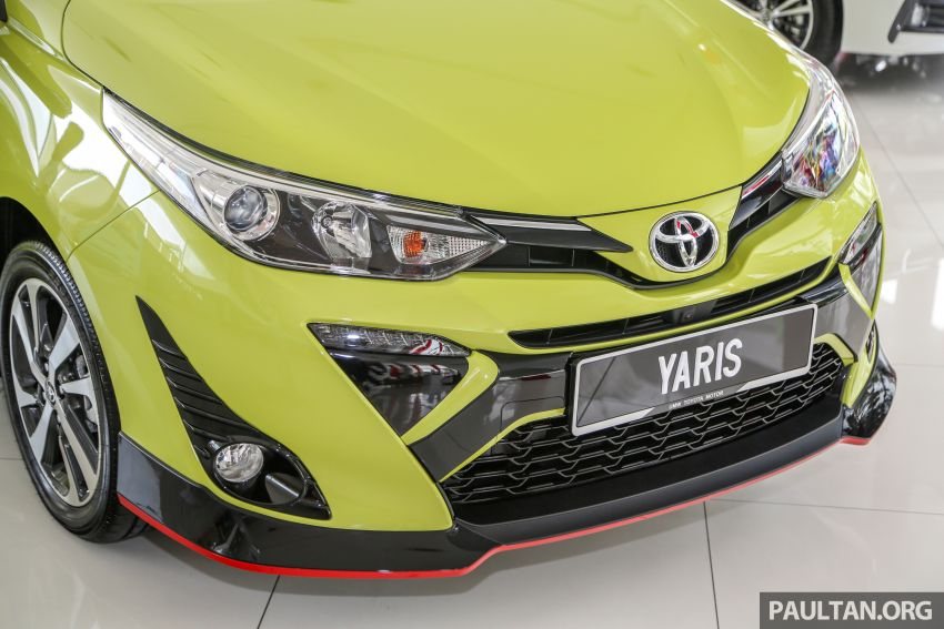 2019 Toyota Yaris 1.5G displayed in PJ – RM84,888 est. Image #944915