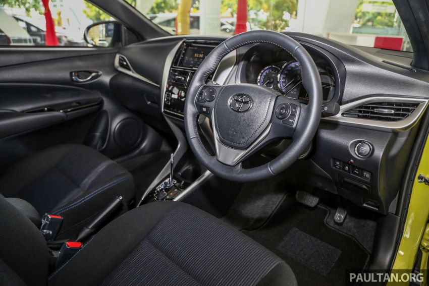 2019 Toyota Yaris 1.5G displayed in PJ – RM84,888 est. Image #944939