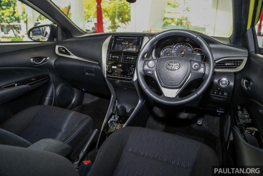 2019 Toyota Yaris 1.5G displayed in PJ – RM84,888 est. Image #944953