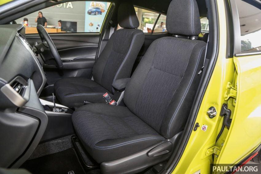 2019 Toyota Yaris 1.5G displayed in PJ – RM84,888 est. Image #944960
