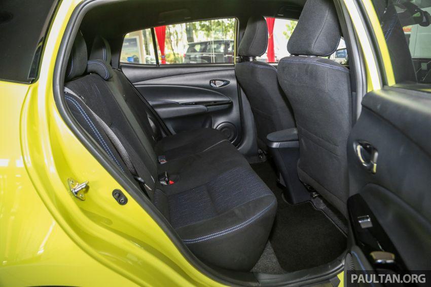 2019 Toyota Yaris 1.5G displayed in PJ – RM84,888 est. Image #944963
