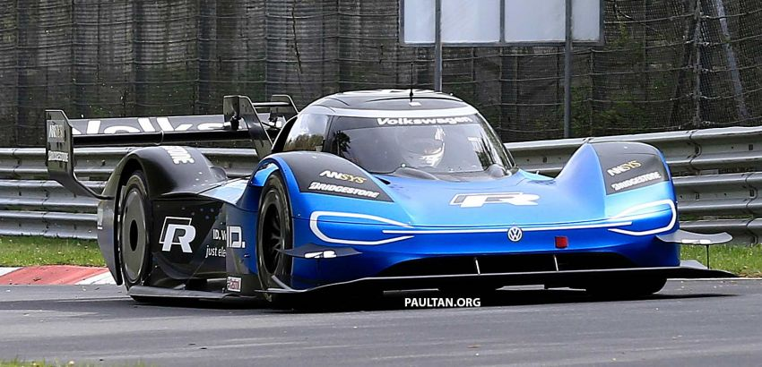 Volkswagen to attempt 'Ring lap record with updated ID.R – revised aero package, battery management Image #954748