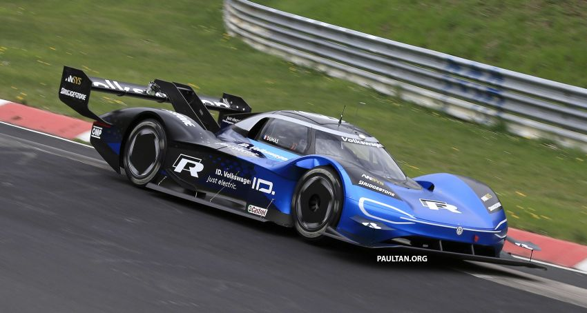 Volkswagen to attempt 'Ring lap record with updated ID.R – revised aero package, battery management Image #954760