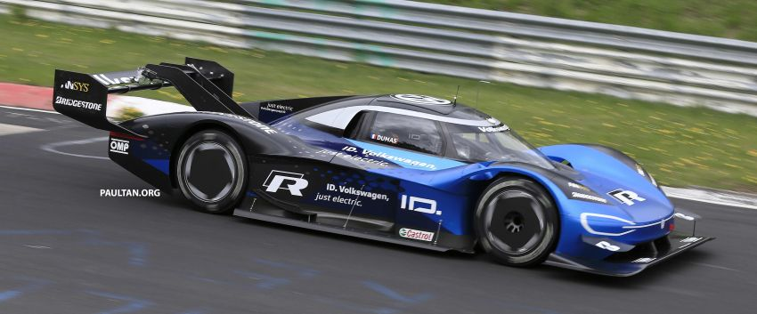 Volkswagen to attempt 'Ring lap record with updated ID.R – revised aero package, battery management Image #954761