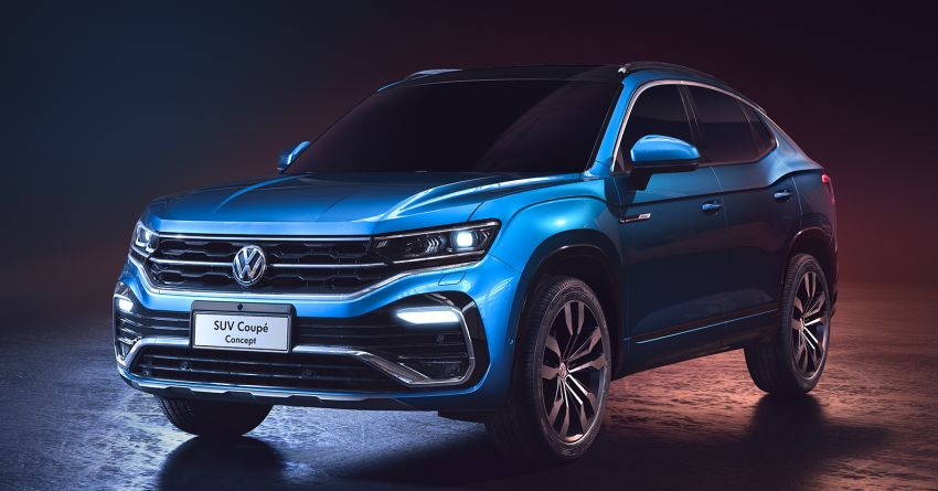 Volkswagen SUV Coupe Concept debuts in Shanghai Image #948300