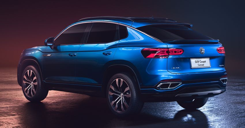 Volkswagen SUV Coupe Concept ditayang di Shanghai Image #948444