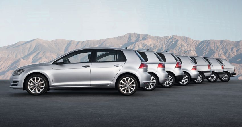 Volkswagen Golf turns 45 – a retrospective of an icon Image #945205