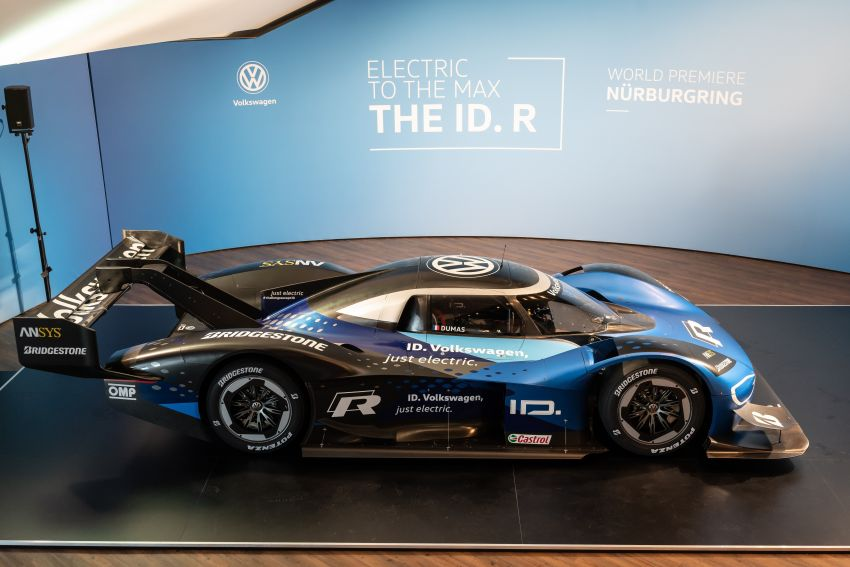 Volkswagen to attempt 'Ring lap record with updated ID.R – revised aero package, battery management Image #953859
