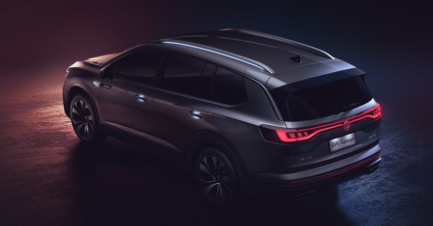 Volkswagen SMV Concept – 5.1m-long, 7-seat SUV! Image #949311