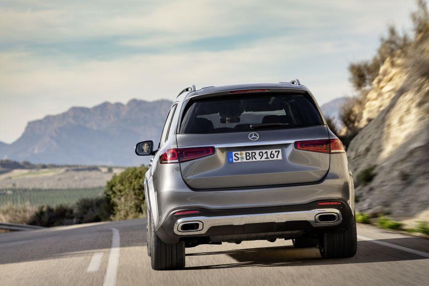 X167 Mercedes-Benz GLS – greater comfort and luxury Image #949587