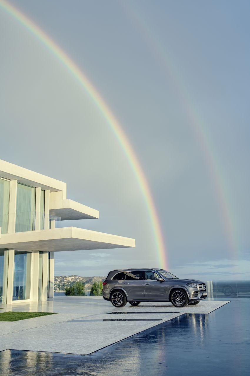 X167 Mercedes-Benz GLS – greater comfort and luxury Image #949590