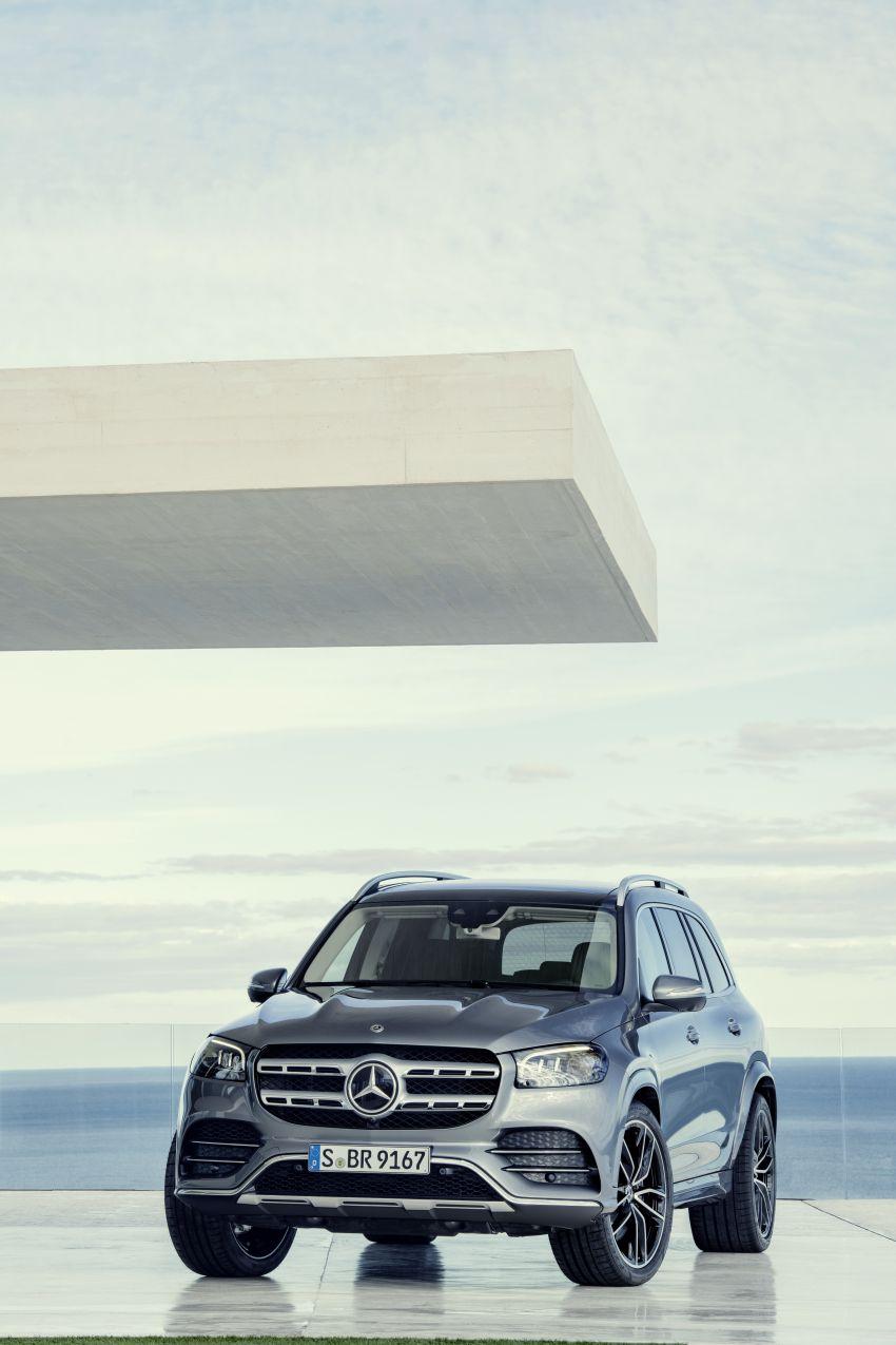 X167 Mercedes-Benz GLS – greater comfort and luxury Image #949593