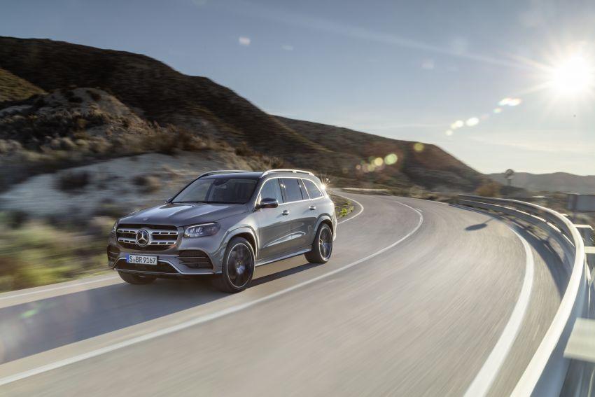 X167 Mercedes-Benz GLS – greater comfort and luxury Image #949561