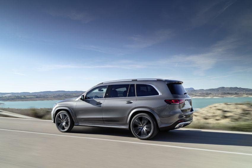 X167 Mercedes-Benz GLS – greater comfort and luxury Image #949564