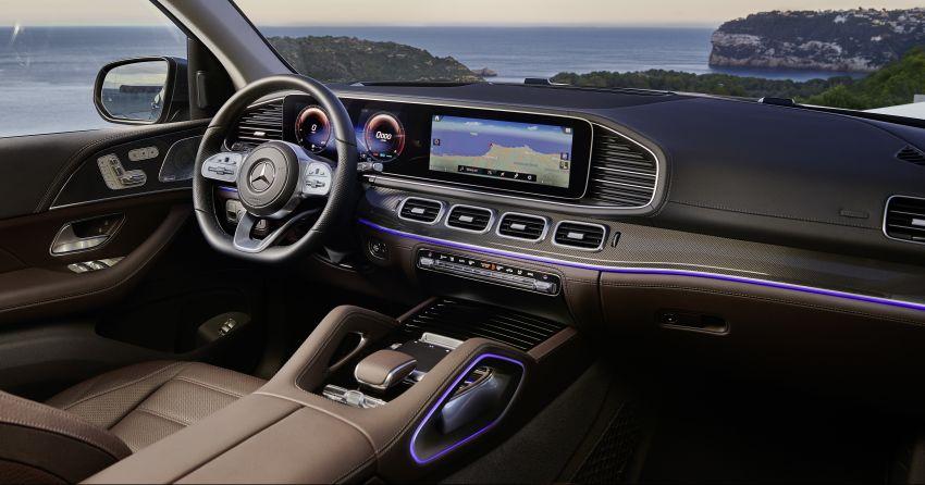 X167 Mercedes-Benz GLS – greater comfort and luxury Image #949631