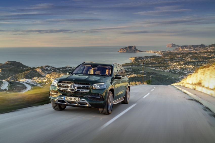 X167 Mercedes-Benz GLS – greater comfort and luxury Image #949635