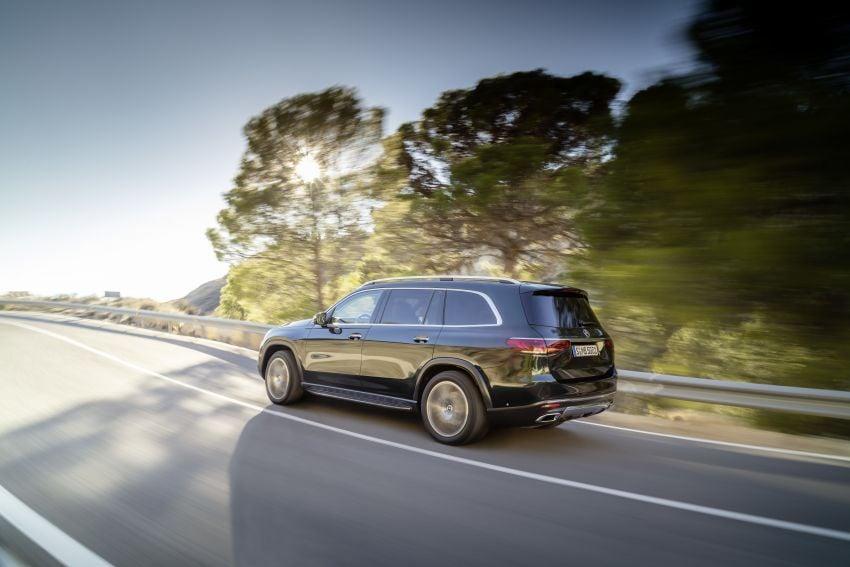 X167 Mercedes-Benz GLS – greater comfort and luxury Image #949636