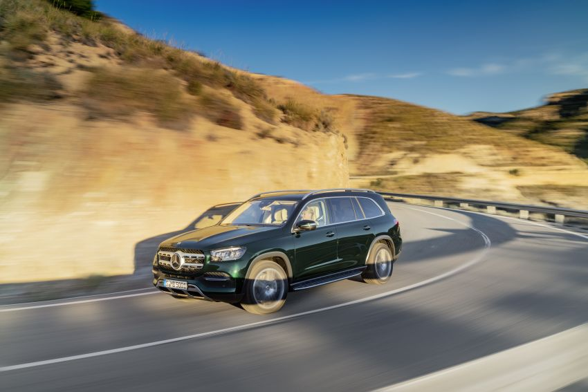 X167 Mercedes-Benz GLS – greater comfort and luxury Image #949637