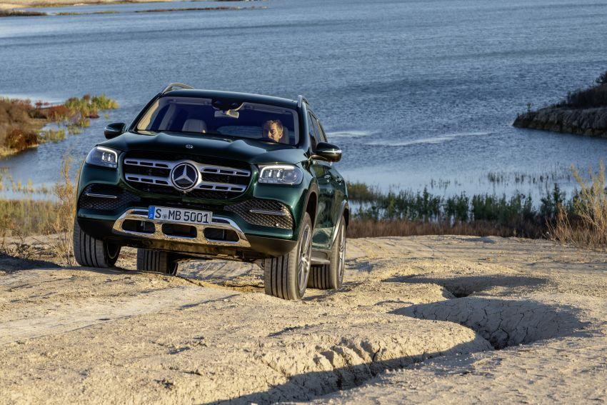 X167 Mercedes-Benz GLS – greater comfort and luxury Image #949641