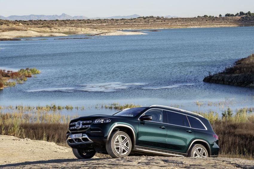 X167 Mercedes-Benz GLS – greater comfort and luxury Image #949649