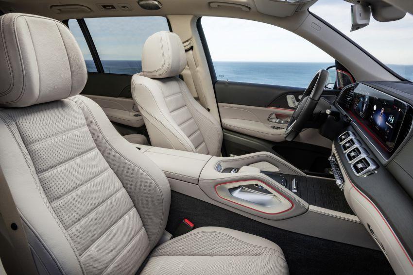 X167 Mercedes-Benz GLS – greater comfort and luxury Image #949660