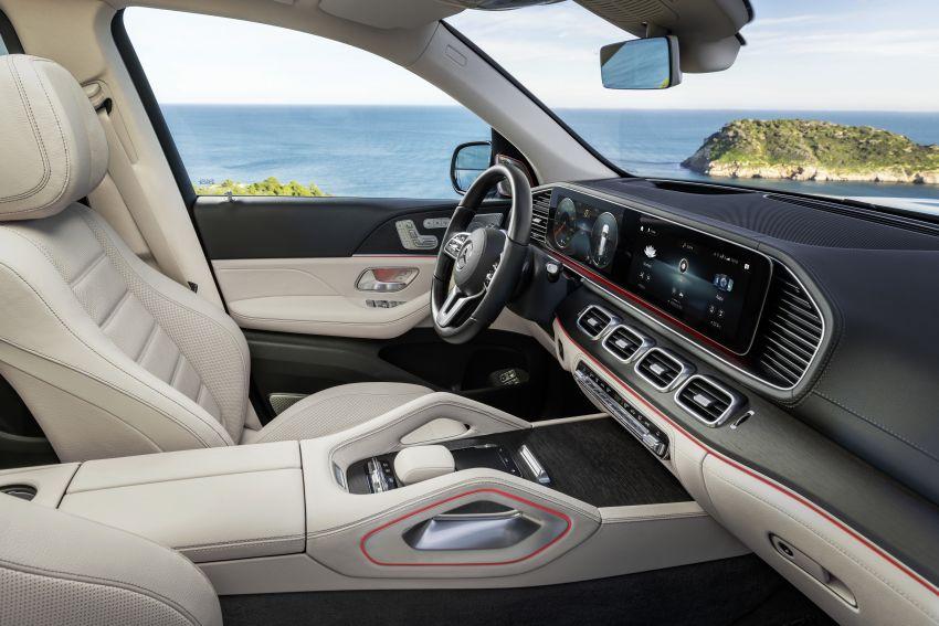 X167 Mercedes-Benz GLS – greater comfort and luxury Image #949661