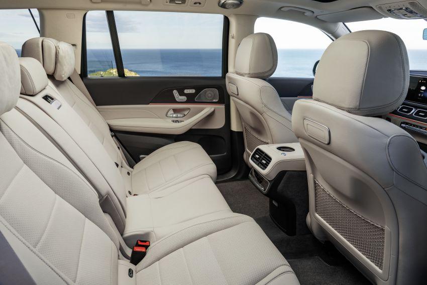 X167 Mercedes-Benz GLS – greater comfort and luxury Image #949662