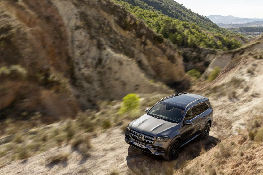 X167 Mercedes-Benz GLS – greater comfort and luxury Image #949572
