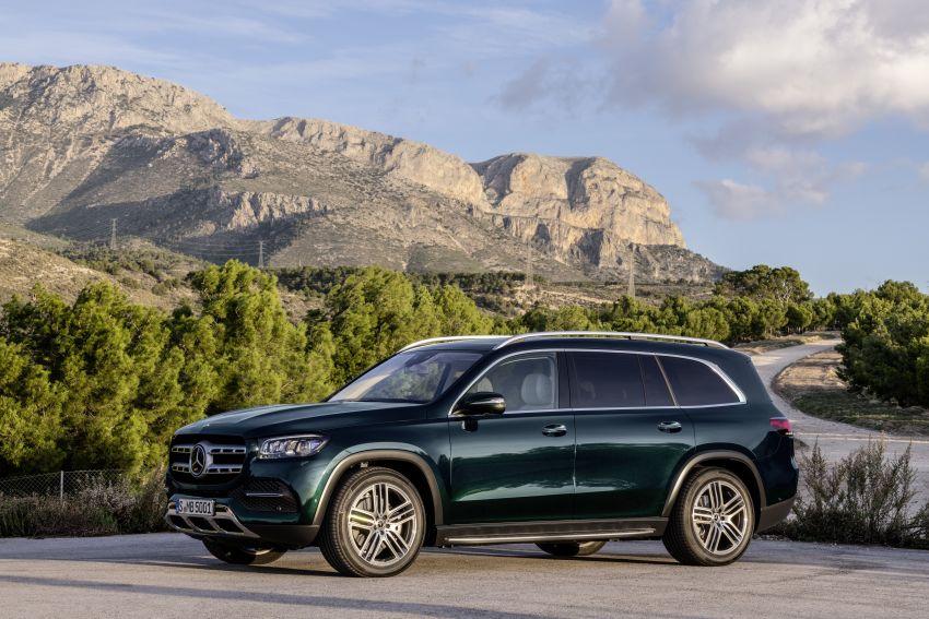 X167 Mercedes-Benz GLS – greater comfort and luxury Image #949668