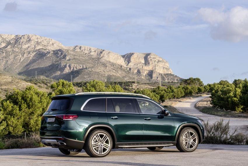 X167 Mercedes-Benz GLS – greater comfort and luxury Image #949669