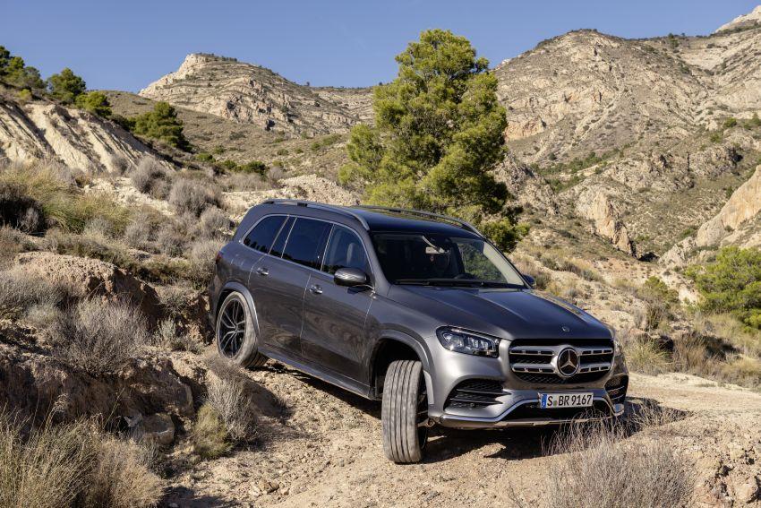 X167 Mercedes-Benz GLS – greater comfort and luxury Image #949573
