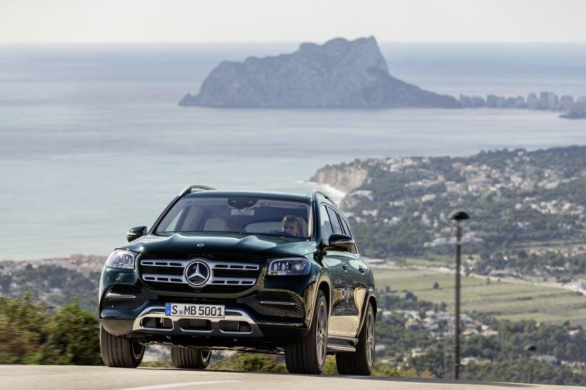 X167 Mercedes-Benz GLS – greater comfort and luxury Image #949686