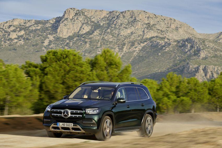 X167 Mercedes-Benz GLS – greater comfort and luxury Image #949691
