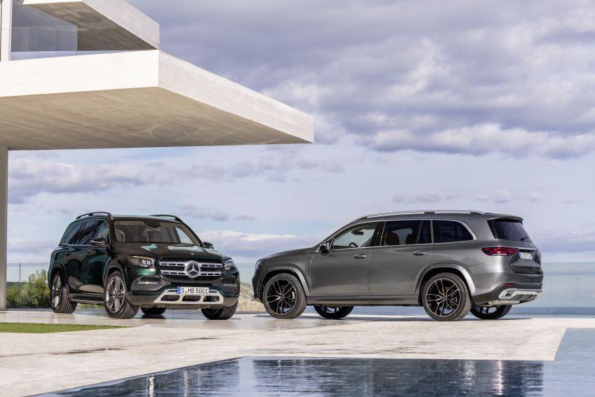 X167 Mercedes-Benz GLS – greater comfort and luxury Image #949693