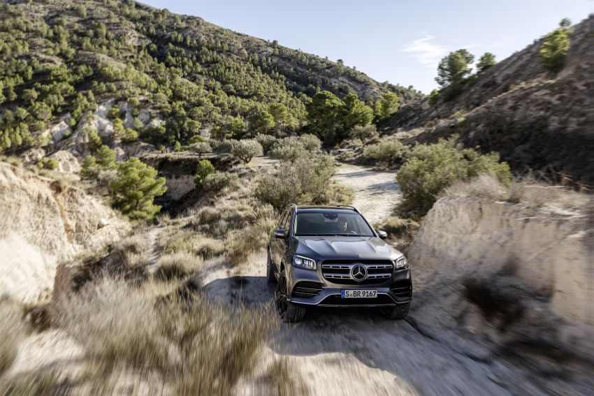 X167 Mercedes-Benz GLS – greater comfort and luxury Image #949579