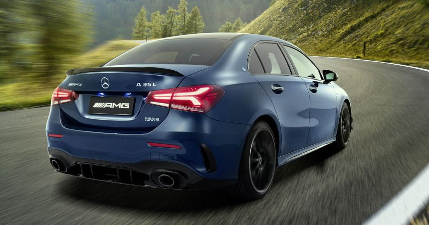 Z177 Mercedes-AMG A35 L 4Matic – only for China Image #948163