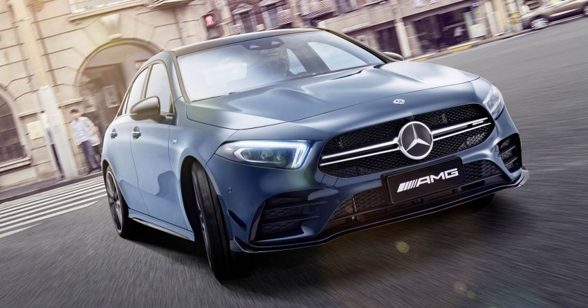 Z177 Mercedes-AMG A35 L 4Matic – only for China Image #948164