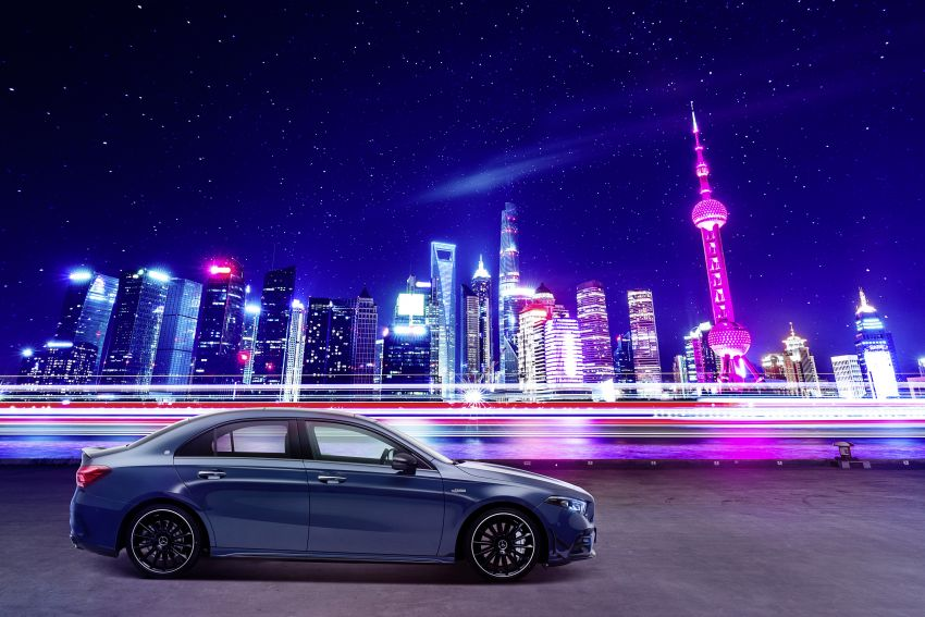 Z177 Mercedes-AMG A35 L 4Matic – only for China Image #948165