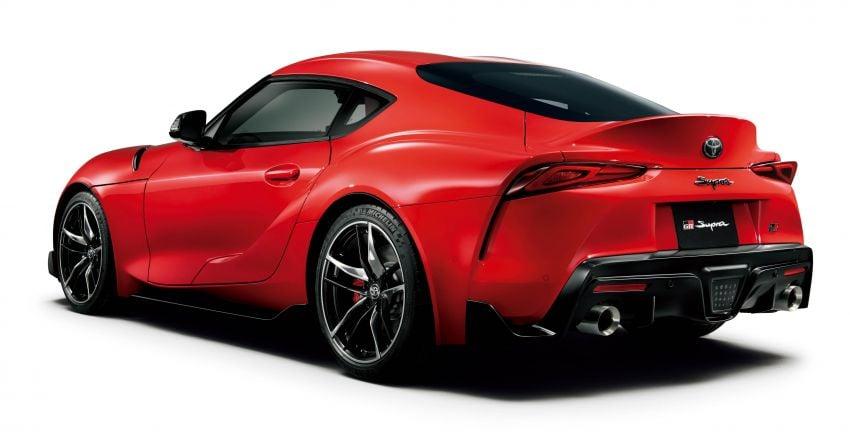 Toyota GR Supra dilancarkan di Jepun – pilihan 2.0L dan 3.0L turbo, tawar kit badan dan rim 19-inci TRD Image #961234