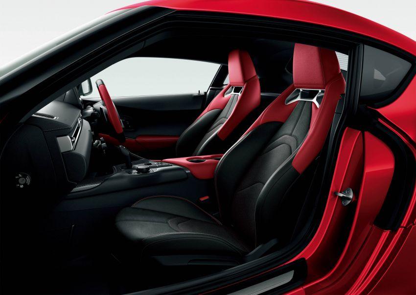 Toyota GR Supra dilancarkan di Jepun – pilihan 2.0L dan 3.0L turbo, tawar kit badan dan rim 19-inci TRD Image #961232