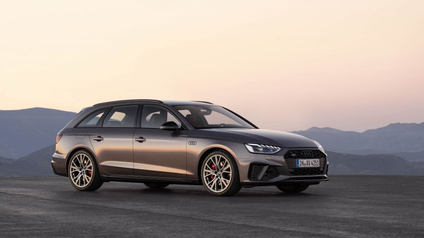B9 Audi A4 gets a second facelift – revised styling and equipment list; new 12-volt mild hybrid engines Image #959634