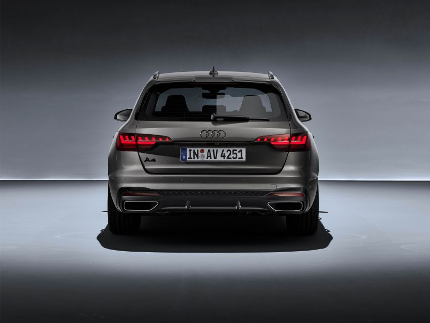 B9 Audi A4 gets a second facelift – revised styling and equipment list; new 12-volt mild hybrid engines Image #959643