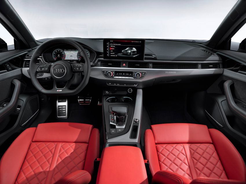 B9 Audi A4 gets a second facelift – revised styling and equipment list; new 12-volt mild hybrid engines Image #959645
