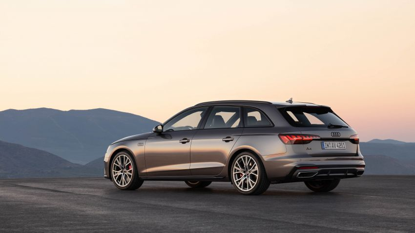 B9 Audi A4 gets a second facelift – revised styling and equipment list; new 12-volt mild hybrid engines Image #959635