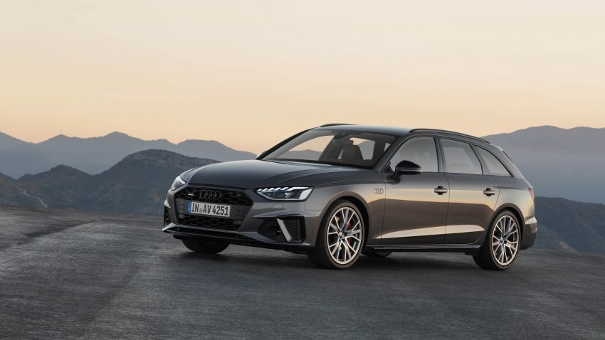 B9 Audi A4 gets a second facelift – revised styling and equipment list; new 12-volt mild hybrid engines Image #959636