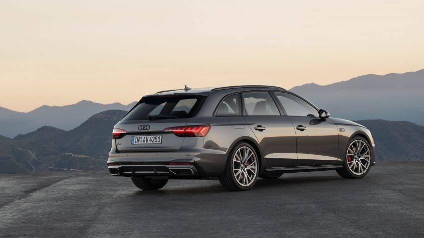 B9 Audi A4 gets a second facelift – revised styling and equipment list; new 12-volt mild hybrid engines Image #959637