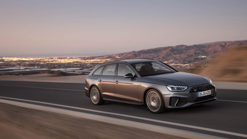 B9 Audi A4 gets a second facelift – revised styling and equipment list; new 12-volt mild hybrid engines Image #959638