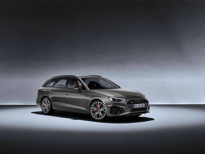 B9 Audi A4 gets a second facelift – revised styling and equipment list; new 12-volt mild hybrid engines Image #959639